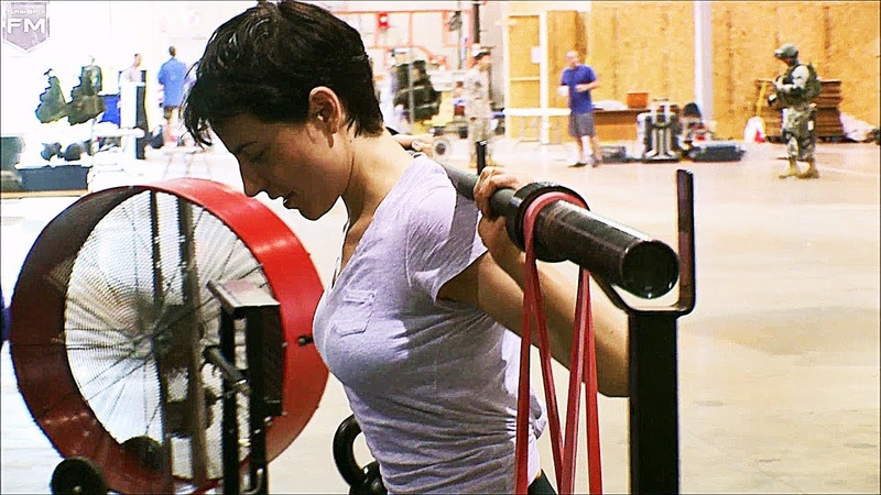 Workout Antje Traue (Faora-Ul) Man of Steel Behind The Scenes