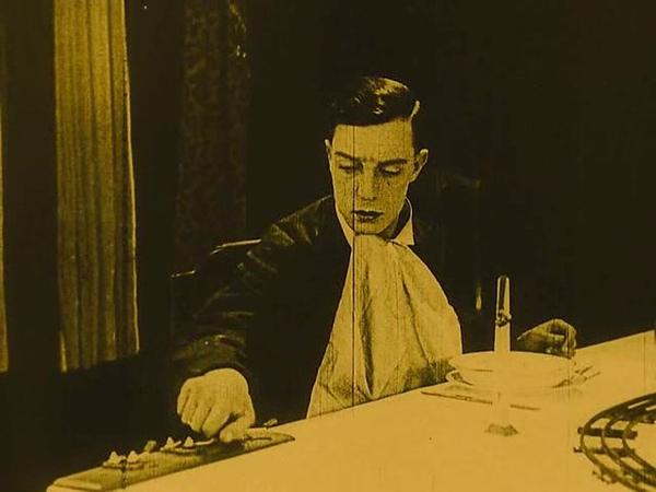 Электрический дом The Electric House Режиссер Бастер Китон Эдвард Ф Клайн 1922г
