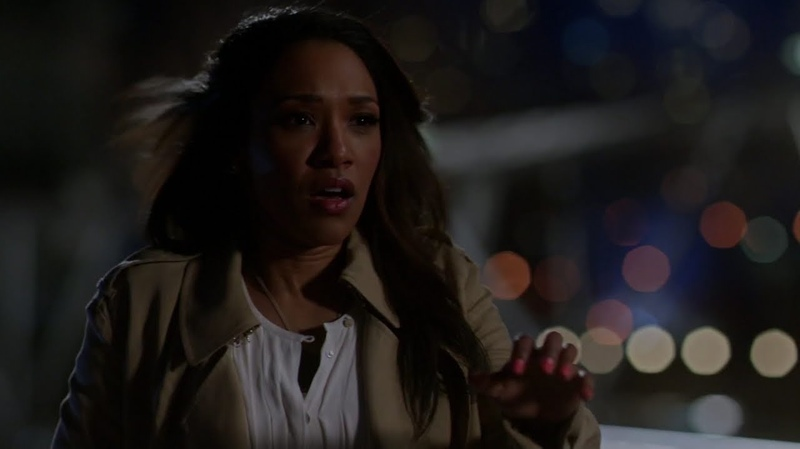 The Flash Iris realizes that Barry is The Flash S1 Ep 20