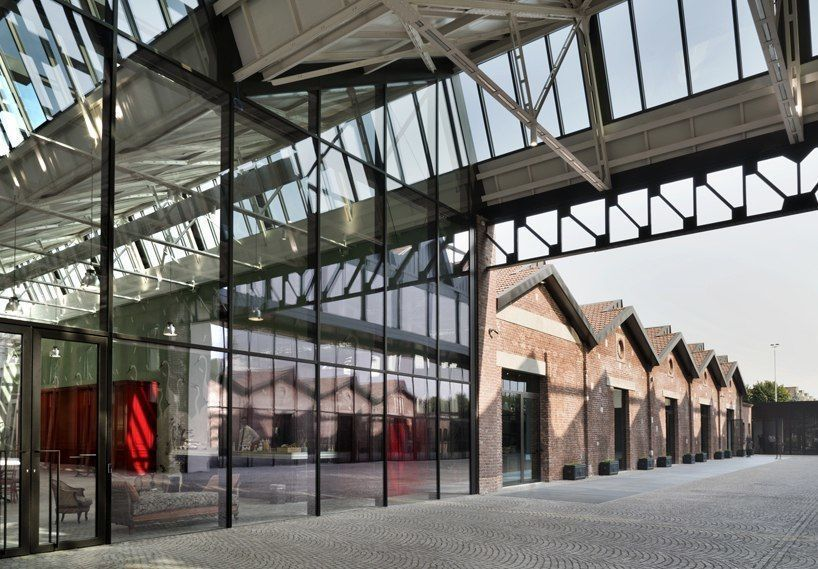 piuarch transforms former aircraft factory into gucci milan headquarters