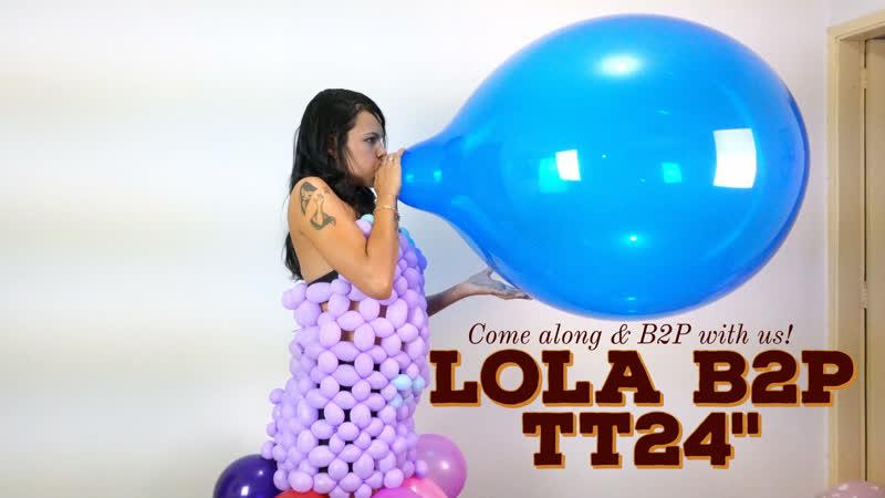 Lola B2P Huge TT24 weaing Balloon Dress is on 106942