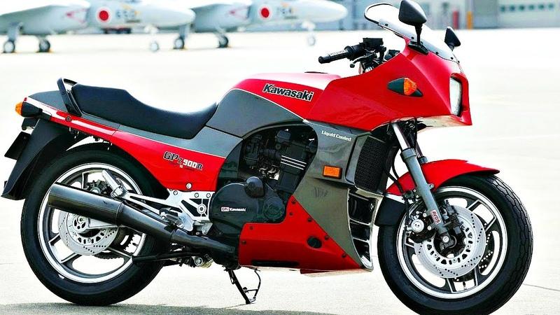 🚀 Kawasaki GPZ900R Мотоцикл Тома Круза из Топ Ган 🔥