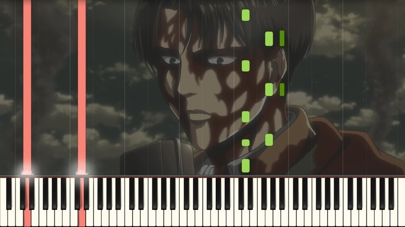 Levis Choice (ThanksATT-KT) - Attack on Titan Season 3 Part 2 EP 6 OST Piano Synthesia Tutorial